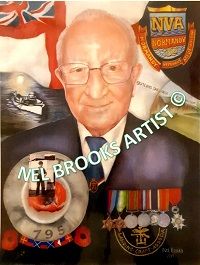 Portrait picture of Veteran Mick Jennings